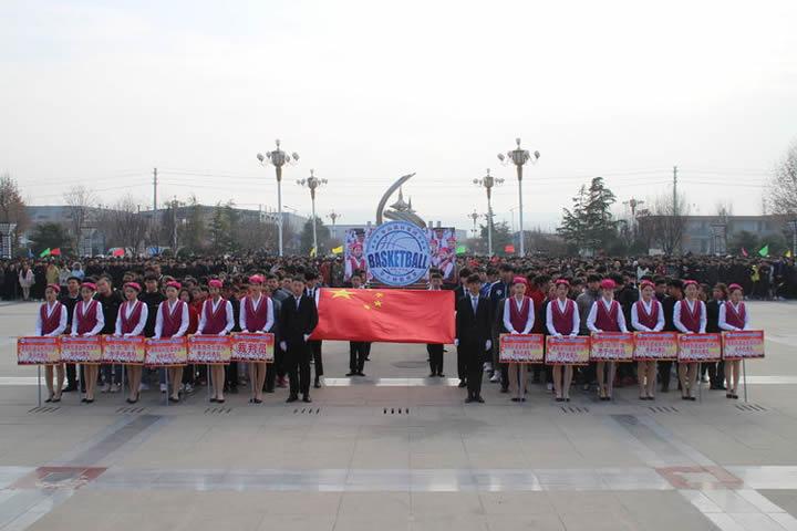 魅力篮球赛,精彩在进行——华山教育集团第十届篮球赛渭南赛区联赛开幕式
